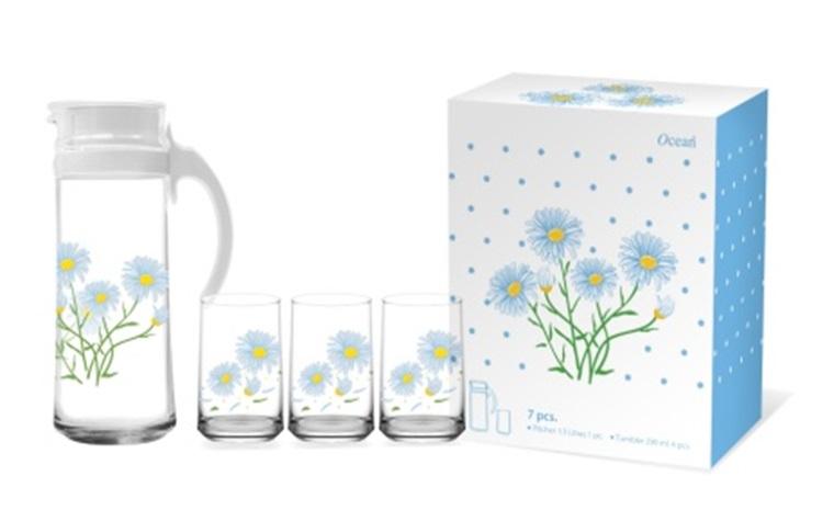 BBL 03 bo binh Patio 4 ly hoa cuc xanh 1