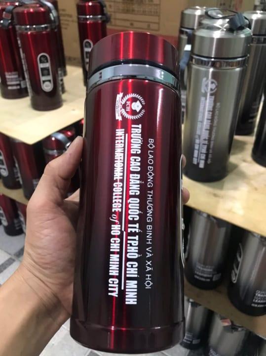 bình giữ nhiệt in logo giá rẻ