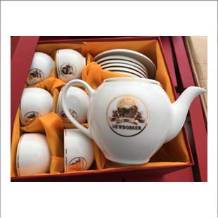 bộ ấm trà cao cấp ép kim logo_4+