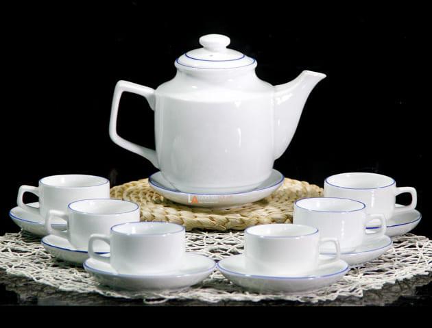 bộ ấm trà vuông cao cấp in logo_1